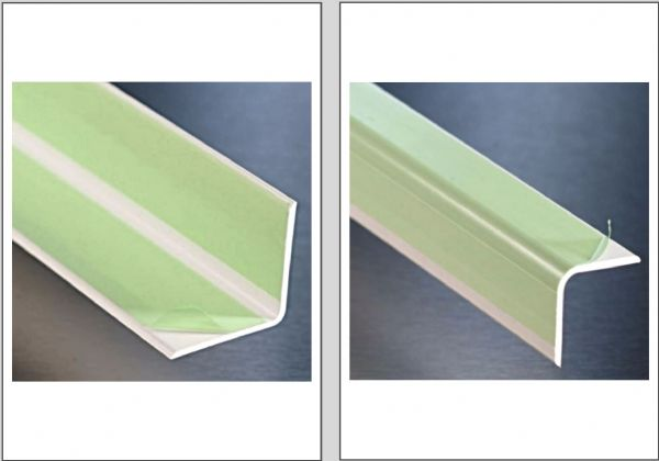 Hygienic Wall Cladding Angles White Only